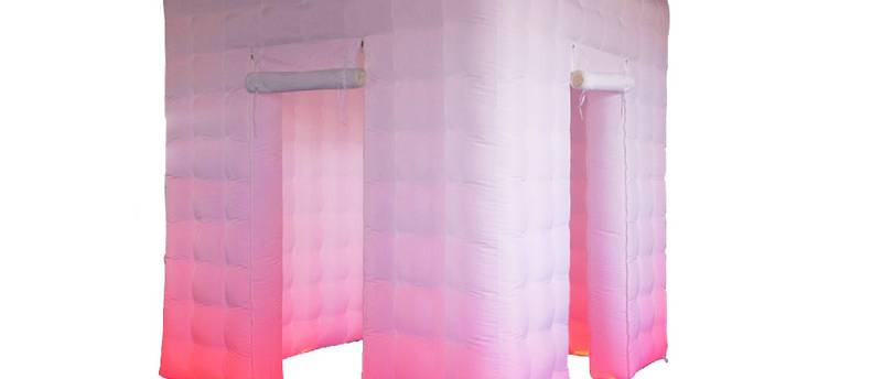 Inflatable Photo Booth Backdrop