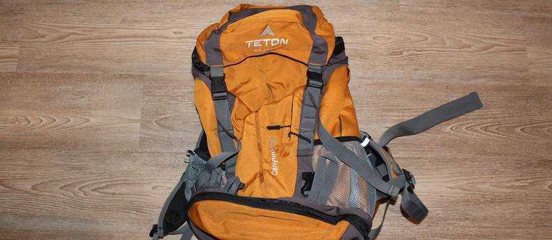 TETON Sports Canyon 2100 Backpack Perfect for Entry-Level Canyoneering – Not Your Basic Backpack; High-Performance Backpack for Hiking, Camping, Travel, and Outdoor Activities; Sewn-In Rain Cover