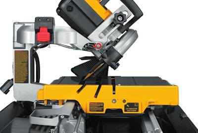 10 inch Dewalt wet tile saw.
