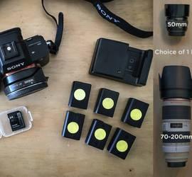 Sony a7S II + Metabones + 1 lens PACKAGE