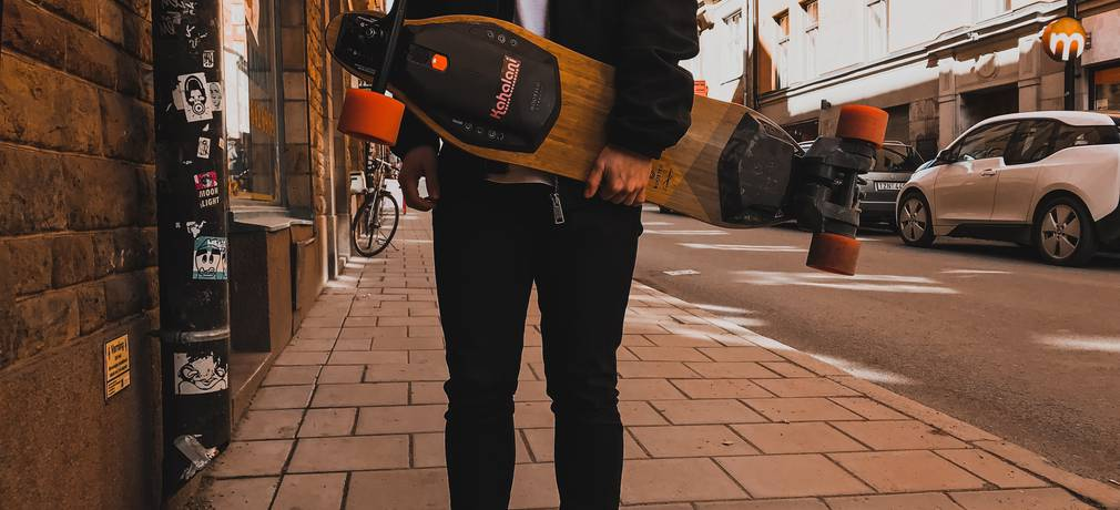 Electric skateboard rentals
