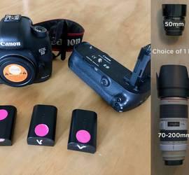 Canon EOS 5D Mark III + 1 lens PACKAGE