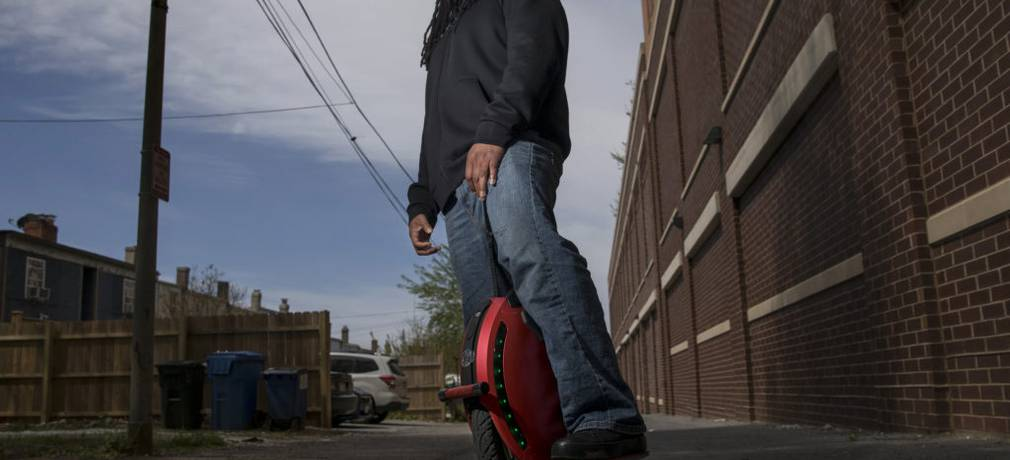 Electric unicycle rentals