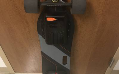 Meepo electric skateboard rental in Richmond