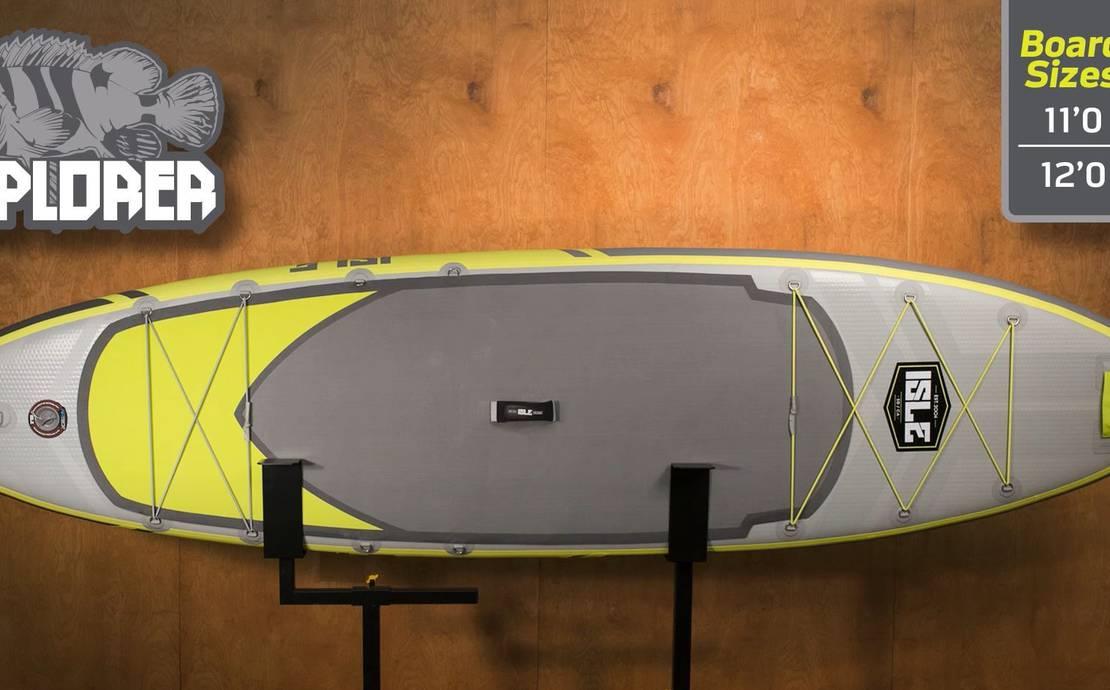 "ISLE Explorer Inflatable Paddle Board 12'0"""