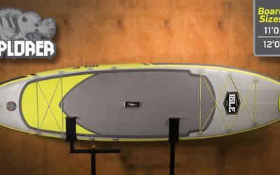 ISLE Explorer Inflatable Paddle Board 12'0""
