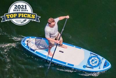 iRocker Nautical Stand Up Paddle Board
