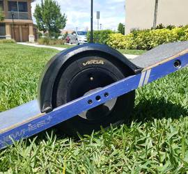 Onewheel + comes with helmet and charger.