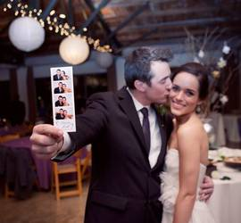 4 Flashes Photo Booth Rental