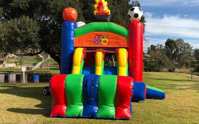 Bounce house rental in Campbell