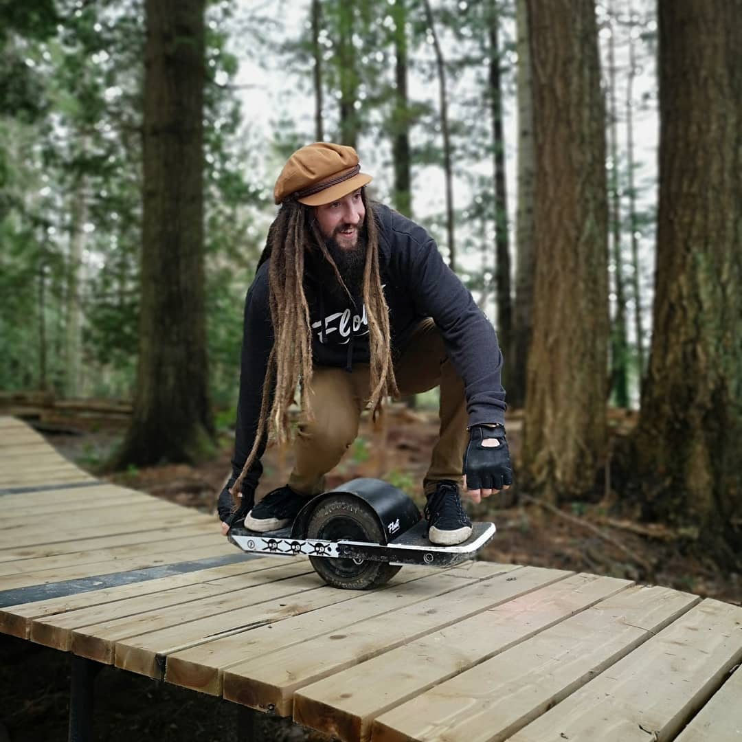 Riding intense terrain on the Onewheel